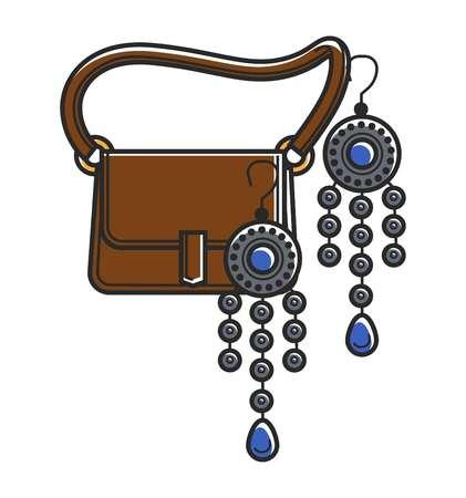 Moroccan culture symbols vector icon Ilustração