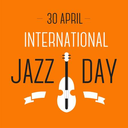 Violin musical instrument jazz international day celebration vector festival song or melody music genre show or performance art festival live sound concert art orchestral composition and symphony.