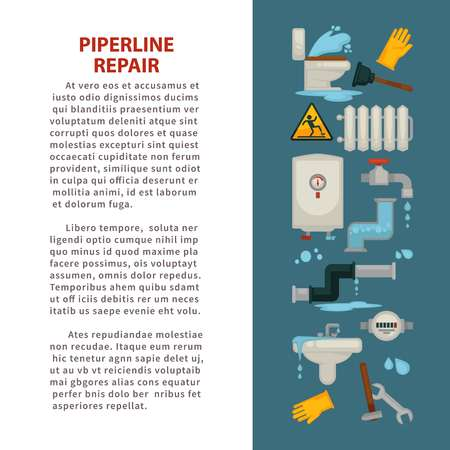 Pipeline repair house plumbing repairing works bathroom
