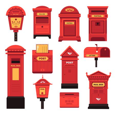 Boîtes aux lettres et services pour que les gens communiquent
