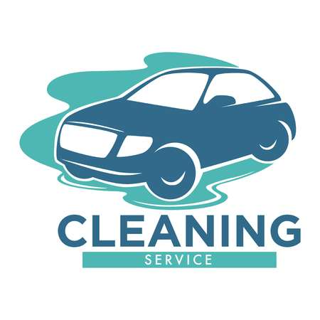 Cleaning service carwash station isolated icon vehicle