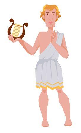 Apollo Greek or Roman god of archery music and dance