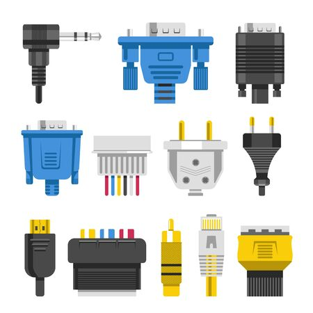 Wiring connectors and cables audio or video adapters or plug