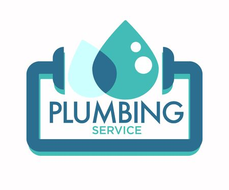 Plumbing service isolated icon, pipeline repairing and leakage fixing