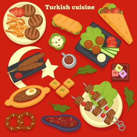 Turkish cuisine meals and dishes culinary recipes traveling