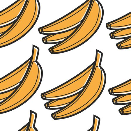 South African food banana bunch pattern