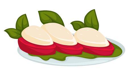 Snacks made of stuffed pepper and herbs restaurant menu