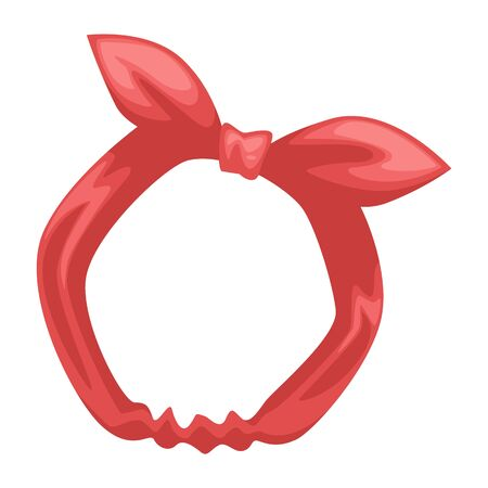 Headband with bow tie, fitness accessory for hair