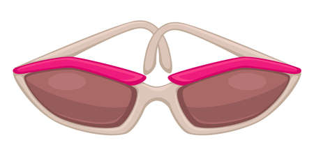 Fashionable women sunglasses for summer vacation, stylish accessories Banque d'images - 151934355