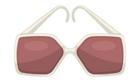 Stylish sunglasses for women, glamour eyewear trendy accessories