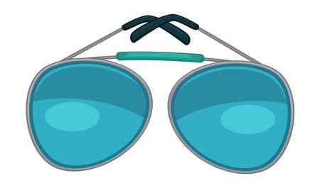 Retro glasses modern sunglasses for boys and girls Illustration