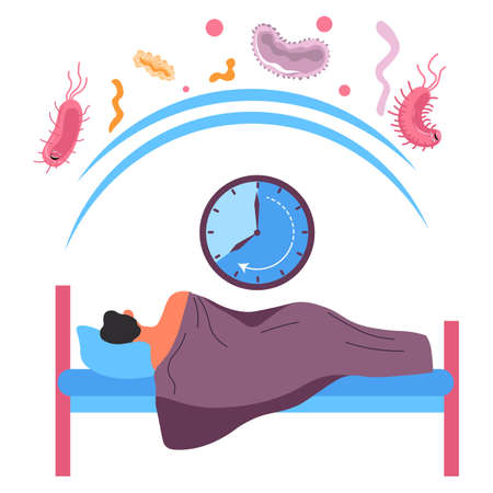 Sleeping well and strengthen immune system, protection from diseases