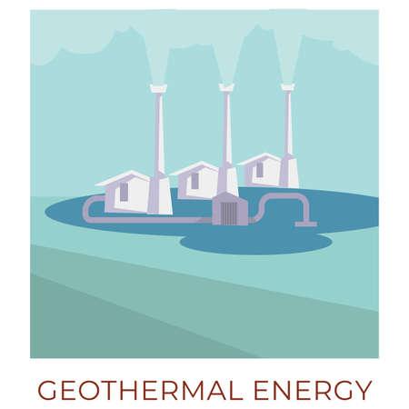 Geothermal energy, using water to generate power vector