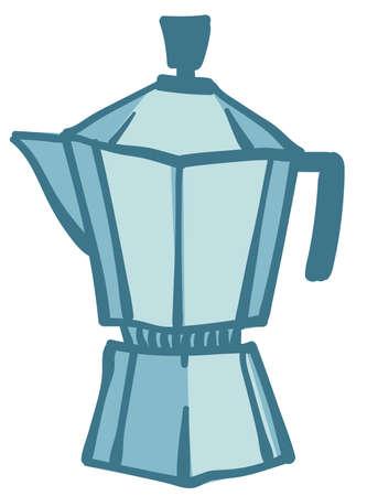 Geyser coffee machine, equipment for making caffeine drinks