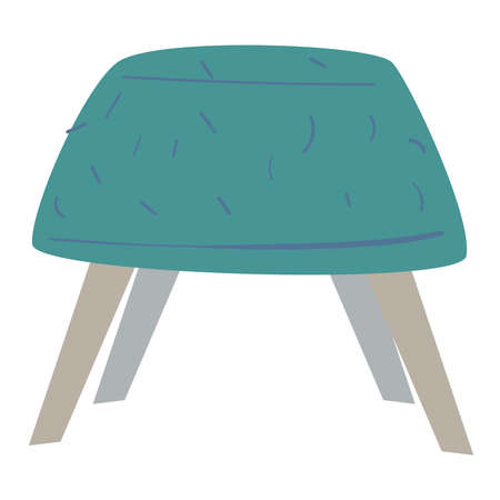 Chair or comfy pouf, furniture for home or office