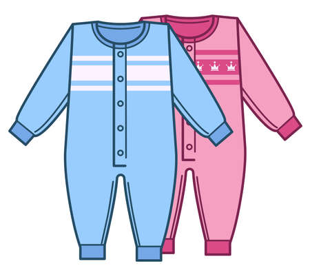 Bodysuits for newborn girl and boy, kids clothes