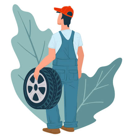 Mechanics services and tyre vehicle maintenance