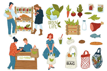 Eco shop offering organic food and bio products