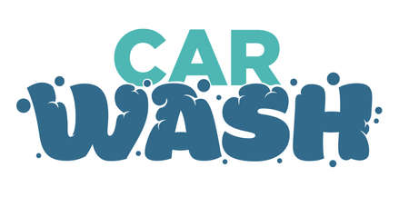 Car cleaning service carwash station isolated icons vehicle and transport vector