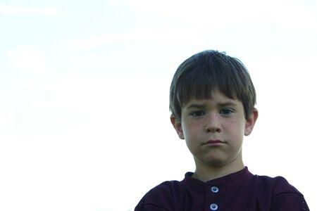 serious boy Stock Photo - 442055