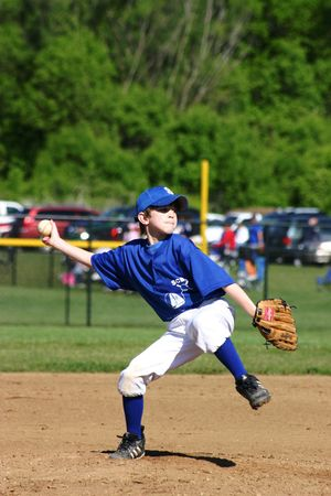 Boy Pitcher Stock Photo - 447322