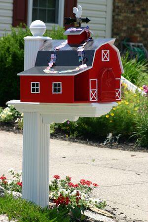 Barn Mailbox Stock Photo - 447337