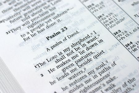 Psalm 23 photo