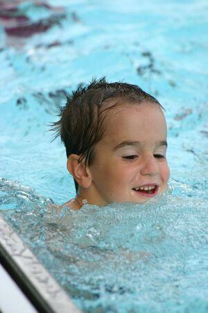 Boy Swimming Stock Photo - 447307