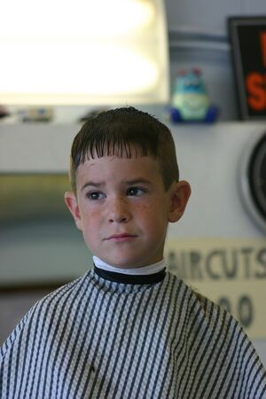 haircut: Haircut 3 Stock Photo
