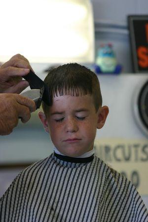 haircut: Haircut 2 Stock Photo