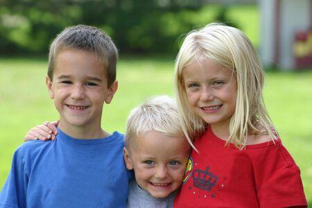 Three Friends Stock Photo - 538929
