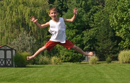 Boy Jumping Stock Photo - 538885