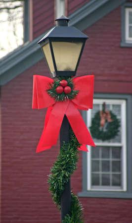 lamp post: Natale lampada post