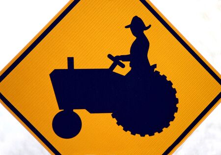 tractor sign: Tractor Sign