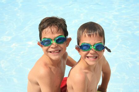 Boys in Goggles photo