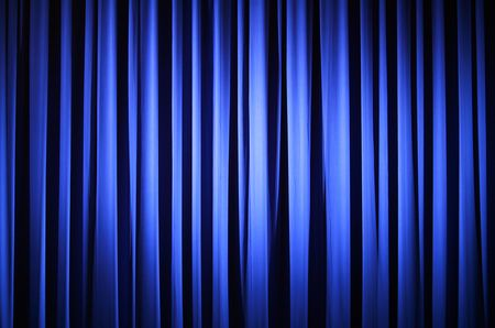 curtain theater: Teatro Curtain  Foto de archivo