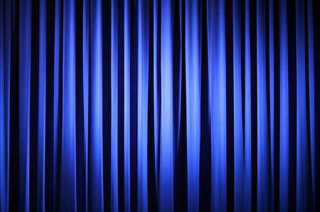 sipario chiuso: Tenda Del Teatro Archivio Fotografico
