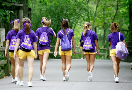 pep: Group of Cheerleaders