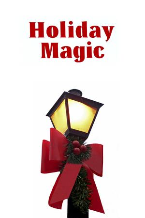 lamp post: Holiday Lamp Post
