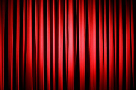 comedy: Red Theater Curtain
