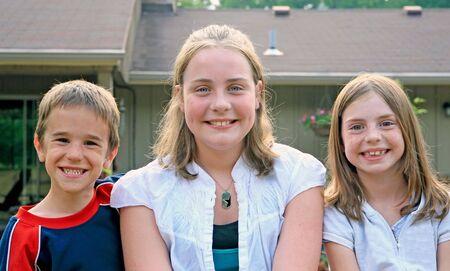 Three Kids Stock Photo - 1942558