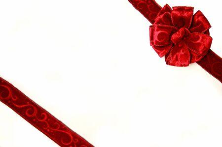 caja navidad: Red Bow en Christmas Box