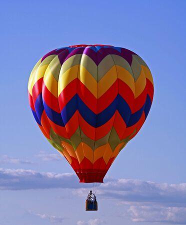air: Hot Air Balloon Stock Photo
