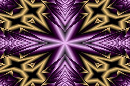 Purple Cross Stock Photo - 2443373