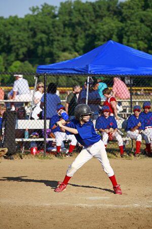Boy Up To Bat Stock Photo - 2614559