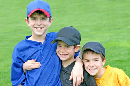 Boys On Game Day Stock Photo - 2614537