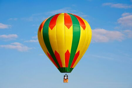 hot weather: Hot Air Balloon Stock Photo