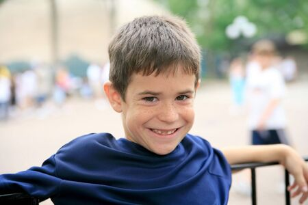 Young Boy Smiling Stock Photo - 2848164