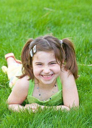 Cute Little Girl Stock Photo - 2894782