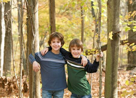 Boys in the Forest photo
